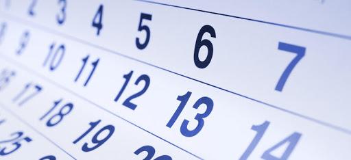 Workshop Calendar